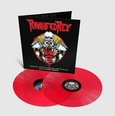 Rawhead Rex - Original Soundtrack By Colin Towns: Limited Stained Glass Red Vinyl 2LP *Pre-Order