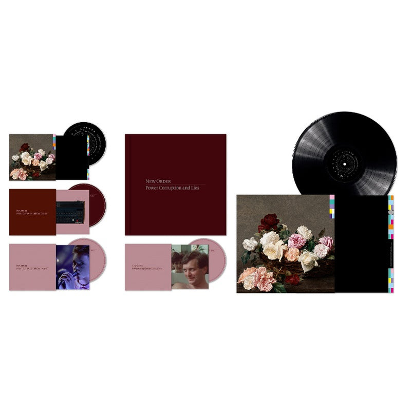 New Order - Power, Corruption & Lies (Definitive Edition): 1LP, 2CD, 2DVD and 48 page book