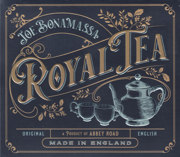 Joe Bonamassa ‎ - Royal Tea: Transparent Vinyl 2LP