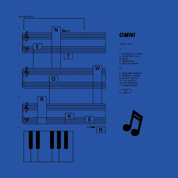 OMNI - Networker: Loser Edition Blue Vinyl LP