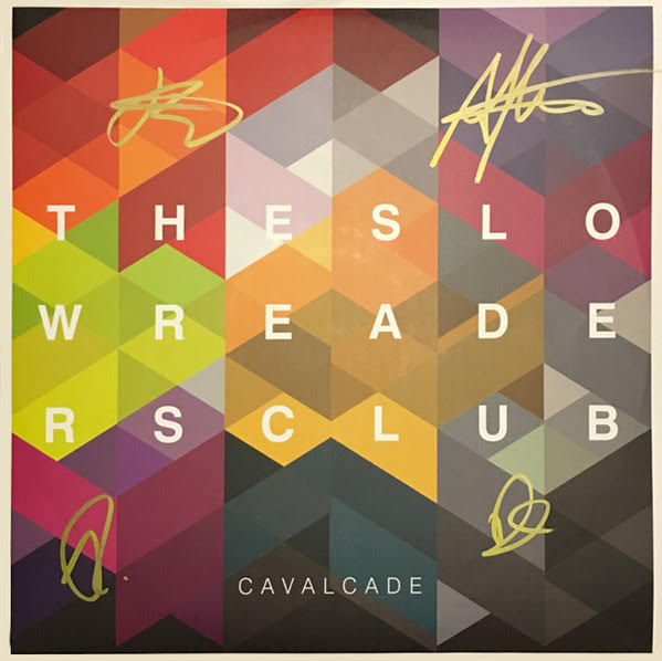 Slow Readers Club - Cavalcade:  Lime Green Coloured Vinyl LP with Signed Sleeve