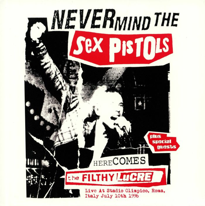 Sex Pistols (The) - Live At Stadio Olimpico, Roma, Italy 1996: Vinyl LP