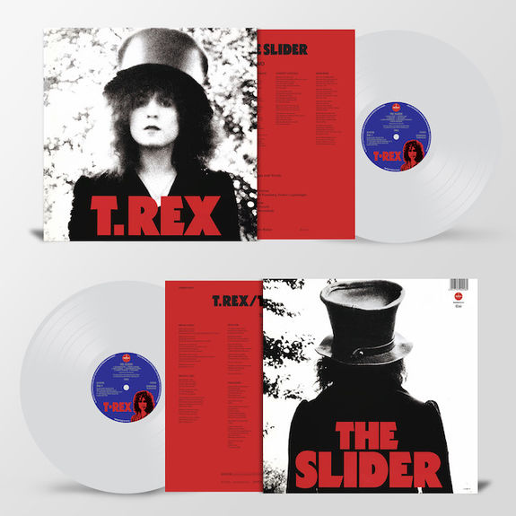 T.Rex - The Slider: Limited Clear Vinyl LP
