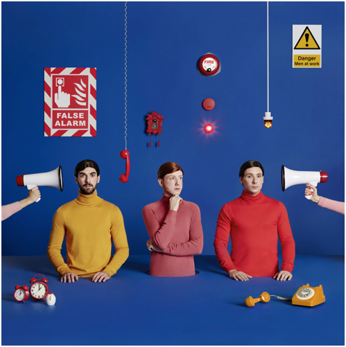 Two Door Cinema Club - False Alarm : CD Album or Limited BLUE Vinyl LP + Brudenell Social Club Ticket Bundle *Pre Order SOLD OUT