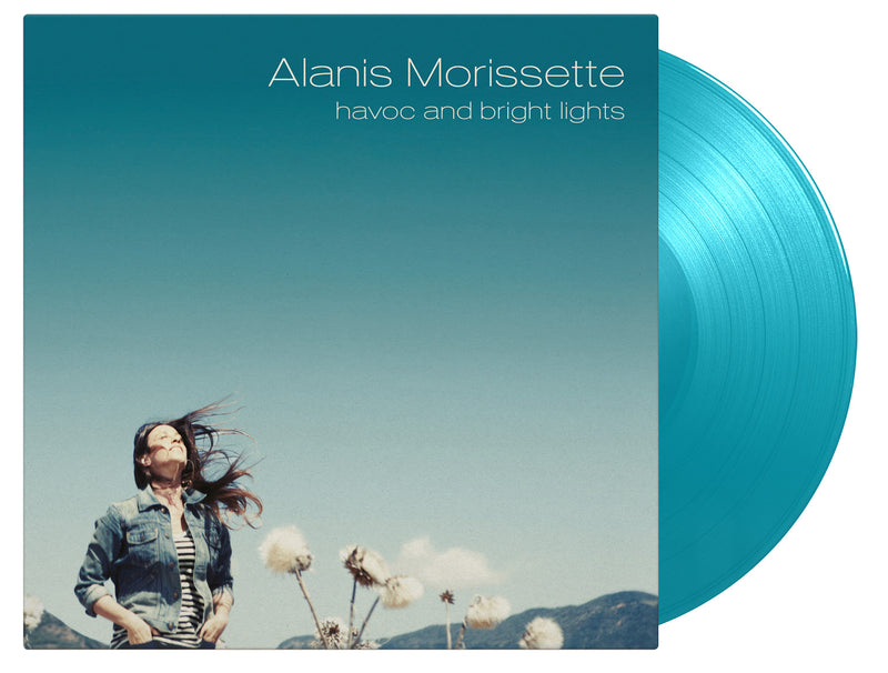 Alanis Morissette - Havoc And Bright Lights: Limited Turquoise Double Vinyl LP