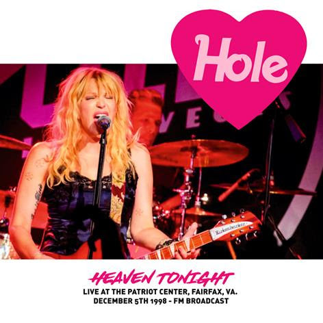 HOLE - HEAVEN TONIGHT: LIVE AT THE PATRIOT CENTER, FAIRFAX, VA. DECEMBER 5TH 1998: Vinyl LP