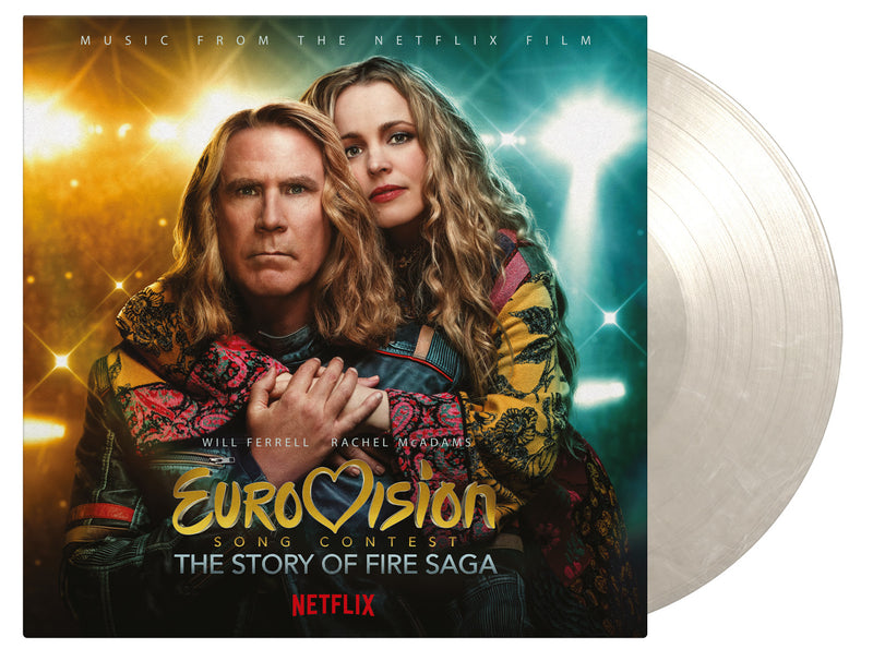 Eurovision Song Contest: The Story Of Fire Saga: Original Netflix Film OST: Snow & Ice Colour Vinyl LP *Pre Order