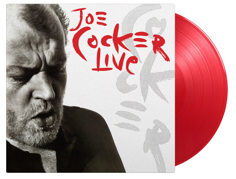 Joe Cocker - Live 2LP Coloured Vinyl *Pre Order