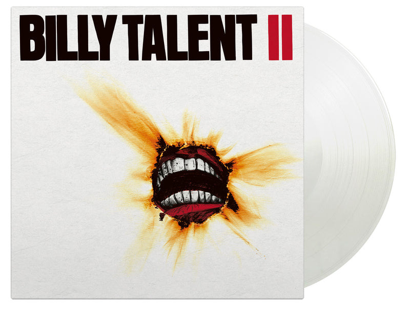 Billy Talent - Billy Talent II: Limited White 2LP With Textured Sleeve