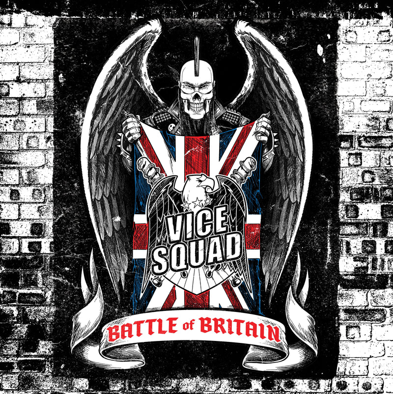 Vice Squad - Battle Of Britain: Limited White Vinyl LP
