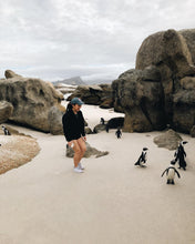 "Load image into Gallery viewer, My favorite part of the trip was meeting these tiny penguins!!</br></br>Date: 2020-03-14</br></br>Location: Boulders Beach Penguin Colony</br></br>Outfit: <a href=""https://www.floatthere.com/search?q=Outdoor+Voices"">Outdoor Voices</a>"