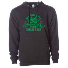 Load image into Gallery viewer, Music City Irish Fest Black Hoodie