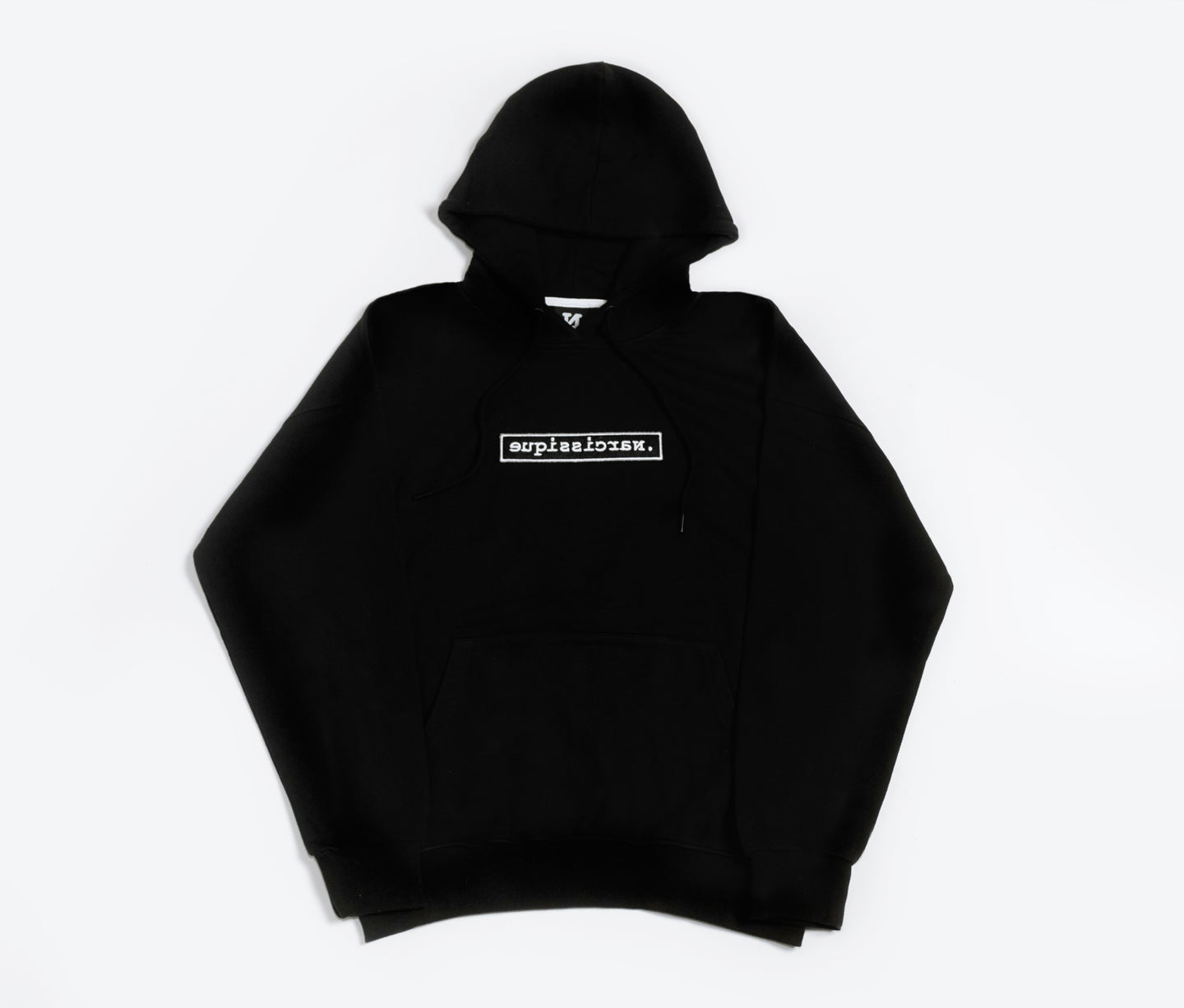 Black Scratch Hoodie Oversized