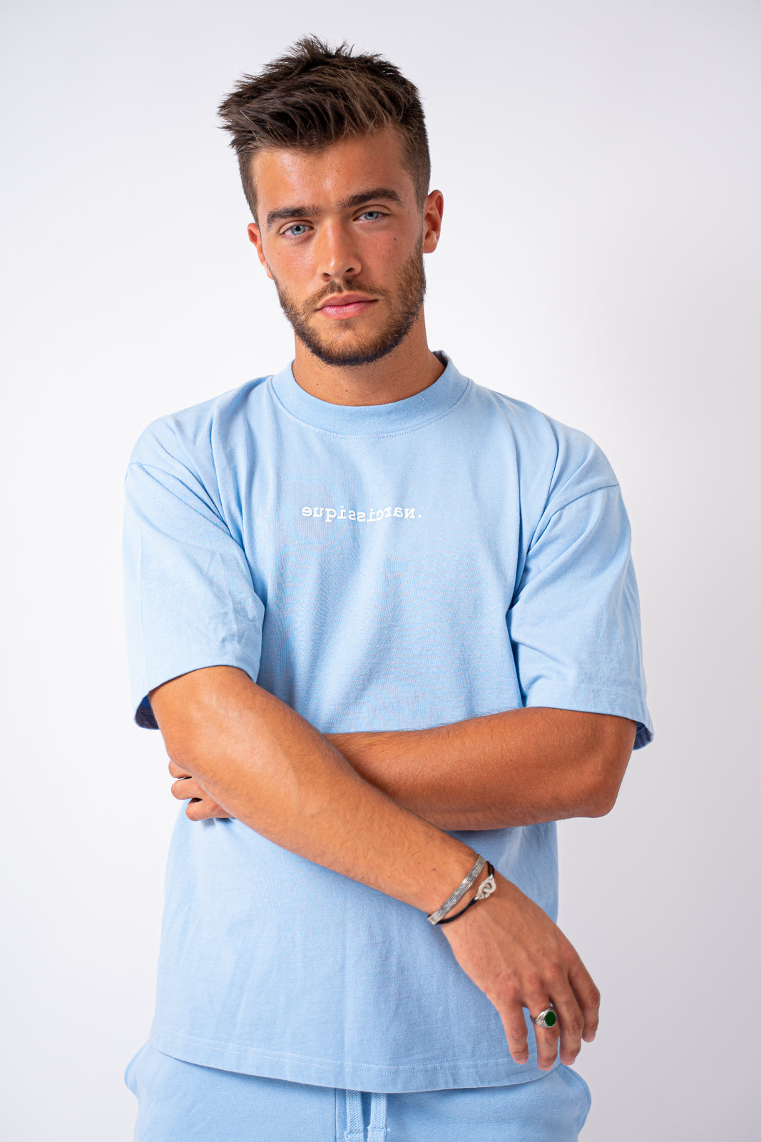 T-Shirt Blue Sky Oversized - Unisex