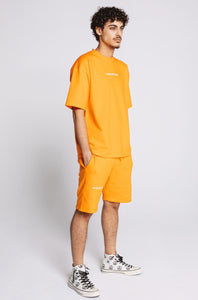 T-Shirt Orange Tangerine Oversized - Unisex