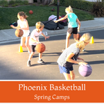Phoenix Basketball<br>Ages 7-10<br>San Dieguito United Methodist Church, Encinitas<br>(3/5 - 4/23)<br>Fridays<br>5:00PM - 6:00PM<br>8 Camps