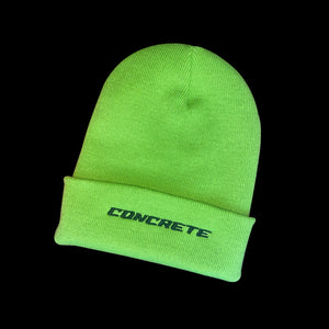 Embroidered Concrete Beanie