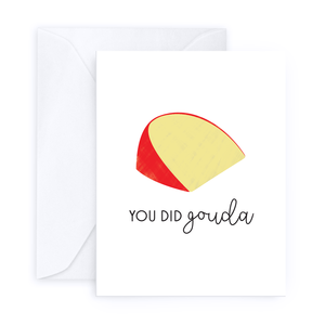 Cheese Greeting Card Set