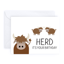 Load image into Gallery viewer, Herd It's Your Birthday