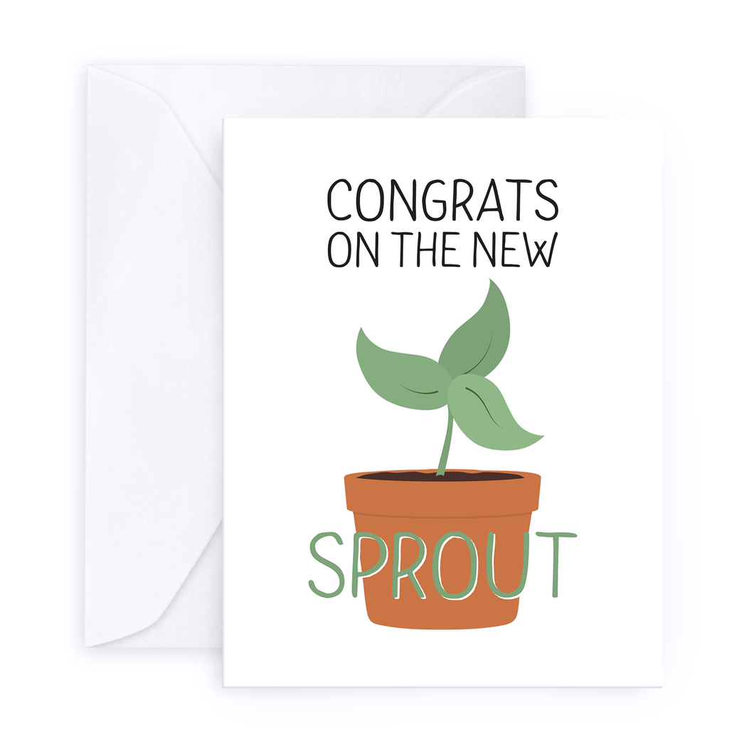 Congrats on the New Sprout