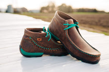 Load image into Gallery viewer, Ladies Twisted X Driving Moc with Turquoise (Size 6 & 8 Only)