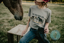 Load image into Gallery viewer, 'This World Needs More Ponies' Toddler- Youth T Shirt