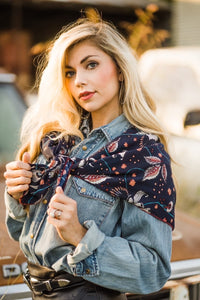 Floral Wild Rag by Urban Cowgirl Co.