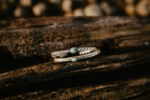 Load image into Gallery viewer, Sterling Silver Bracelets with Turquoise (2 Styles)