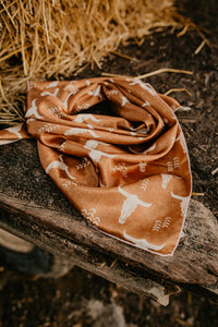 Locally Made Printed Satin Wild Rag {Pre-Order}