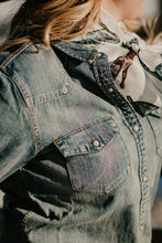 Load image into Gallery viewer, 'Dodge City' Denim Pearl Snap by STS Ranch