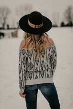 Load image into Gallery viewer, 'Woodruff' Aztec Off Shoulder Top