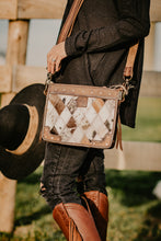 Load image into Gallery viewer, STS Diamond Cowhide Crossbody Purse