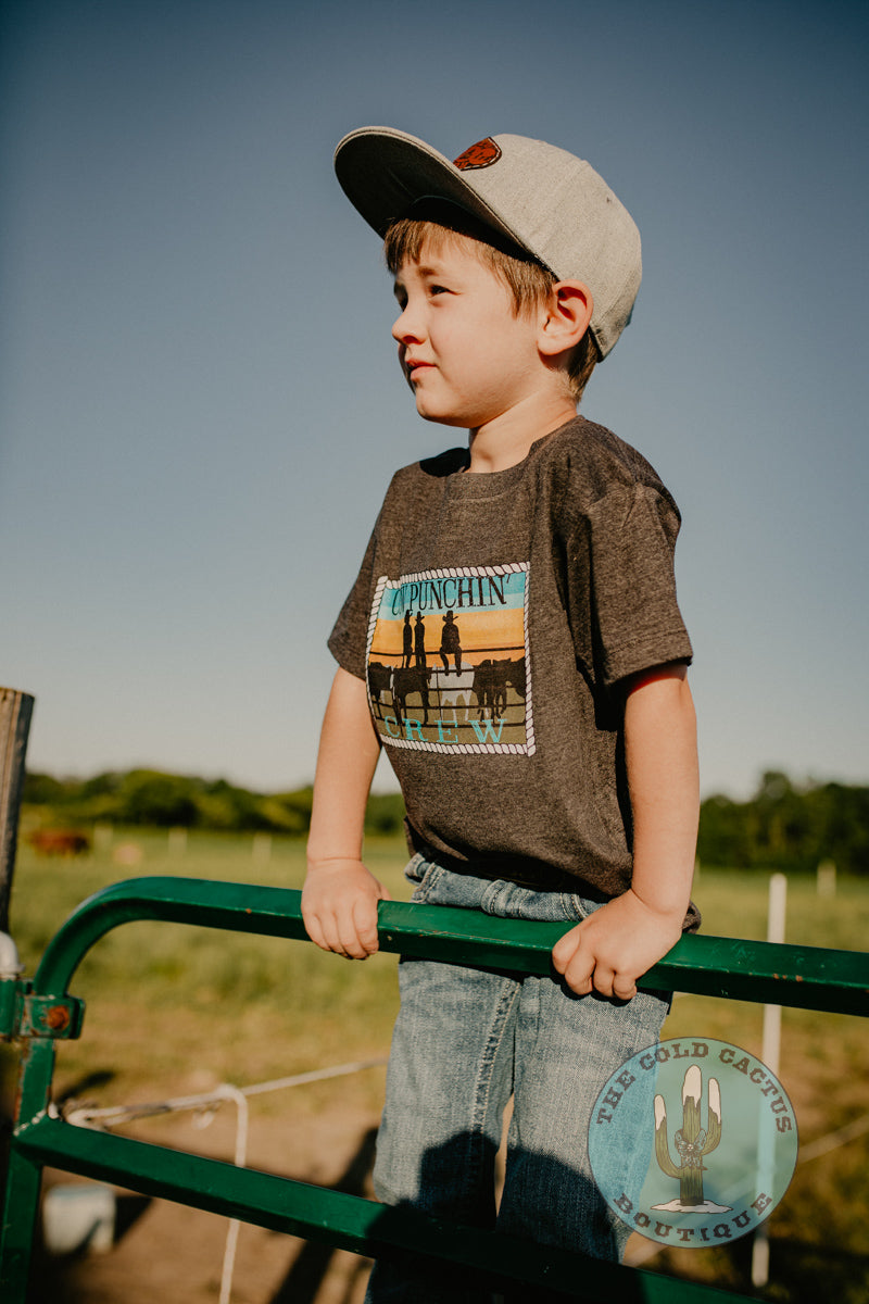 Cowpunchin' Toddler- Youth T Shirt