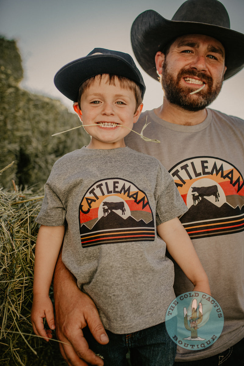 'Cattleman' Toddler- Youth - Adult T-shirt