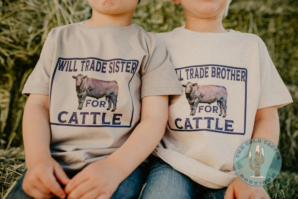 Will Trade Brother-Sister For Cattle - Toddler-Youth T Shirt