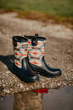 Load image into Gallery viewer, Pendleton Classic Wyeth Mid Calf Rain Boot (Navy)