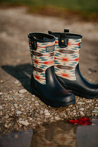 Pendleton Classic Wyeth Mid Calf Rain Boot (Navy)