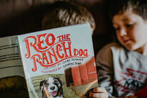 Reo the Ranch Dog - Children's Book