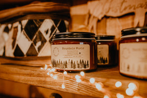 """Mountain Magic"" Soy Candle (18 oz)"
