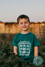 Load image into Gallery viewer, Easily Distracted by Tractors T-shirt (Toddler, Youth, and Adult Sizes)