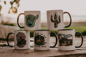 Signature Ceramic Coffee Mugs