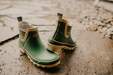Load image into Gallery viewer, Pendleton Classic Diamond River Short Chelsea Rain Boot (Sage)