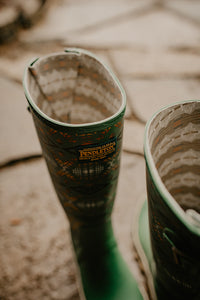 Pendleton Classic Diamond River Tall Rain Boot (Sage)