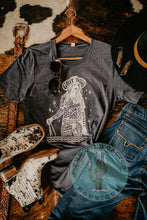 "Load image into Gallery viewer, ""Gritty Tough Cowgirl"" CC Exclusive Graphic T"