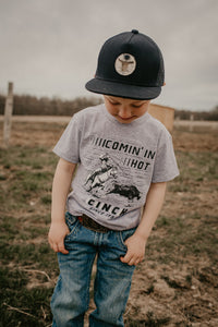 Comin' In Hot - Youth Cinch Tshirt