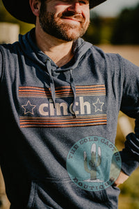 Men's CINCH Retro Inspired Logo Hoodie