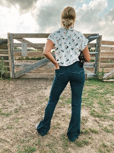 Lola Kimes Ranch Trouser Jean