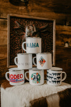 Load image into Gallery viewer, 11 Oz Tin Camper Mugs (Various Designs)