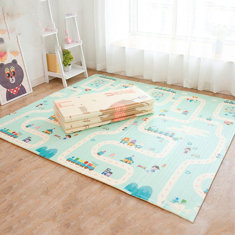 Portable Play Mat for Babies Large Thick XPE - SajKin