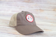 Load image into Gallery viewer, Broken Arrow Circle Patch Trucker (3 Colors Available)